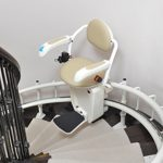 curved stair lift Star Lift St. Paul Minnesota